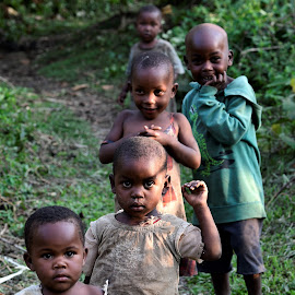 The little ones by Wendy Michael - Babies & Children Children Candids ( tribes, uganda, jungle, safari, children, children candids, candid, adorable, kids, africa )