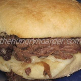 Italian Beef Sandwiches.