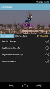 Kitesurfing Progression Player- screenshot thumbnail