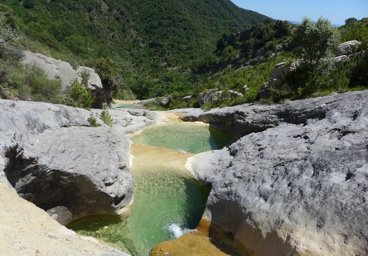 Pozas del Barranco de Ascaso, Huesca