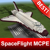 Space Flight Ship Map for MCPE