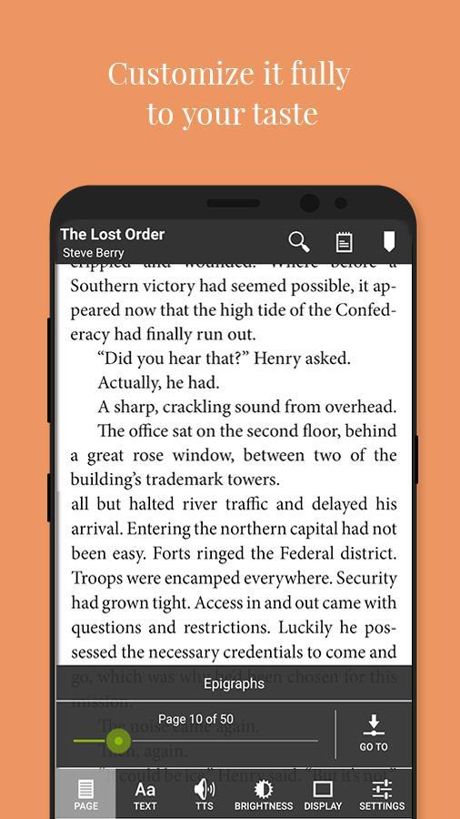 Universal Book Reader Screenshot 2