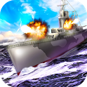Naval Wars 3D: Warships Battle - join the navy! icon