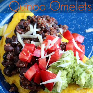 Mexican Quinoa Omelets