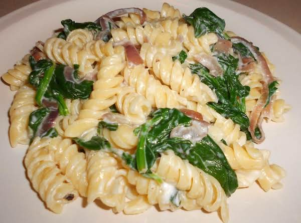Pasta With Spinach And Chevre Recipe
