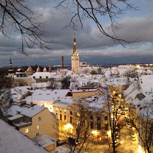 Tallinn Estonia in Winter Travel Blog