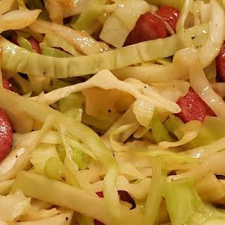 Sausage Cabbage Skillet.