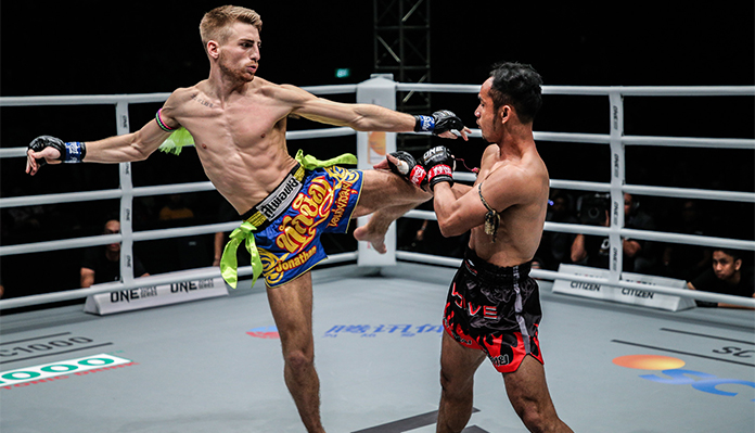 Muay Thai Gave Jonathan Haggerty A Better Path In Life