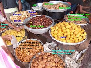 Photo: INDIAN CHATT OR ROADSIDE SNACK FOOD