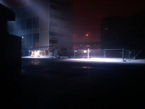 Photo: Schneefall im Maag-Areal