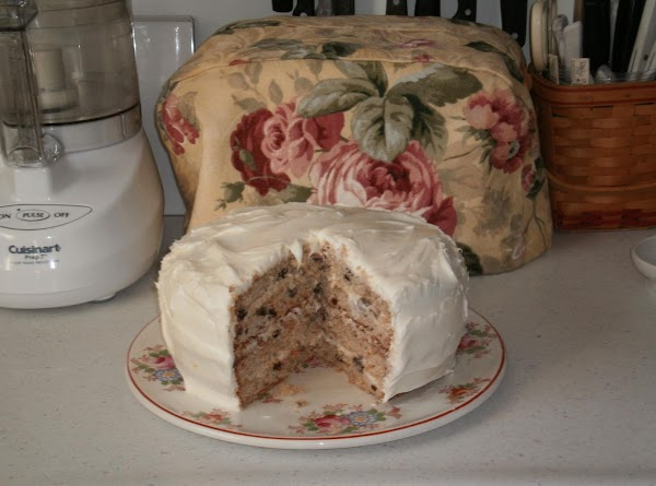 Carrot Cake With Cream Cheese Iceing Recipe