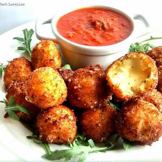 Crispy Fried Bocconcini w/ Smoky Tomato Sauce
