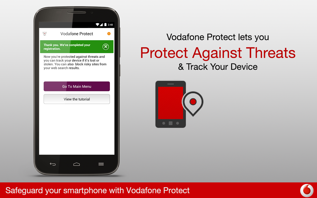 Vodafone Protect- screenshot