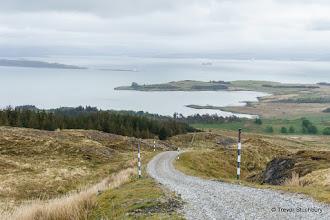 Photo: Road up Maol nan Uan, Craignure, Mull