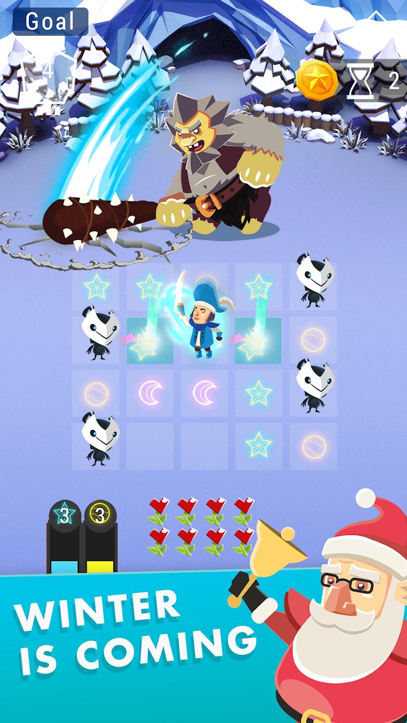 Starbeard - Intergalactic Roguelike puzzle game Screenshot 0