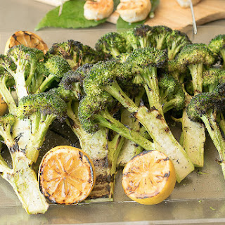 Grilled Broccoli With Lemon, Plus A Giveaway