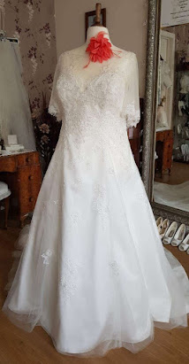 D1557-C Sacha James Wedding Dress
