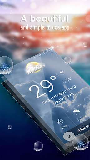 Hourly weather forecast Apk 1