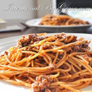 Simple Spaghetti.