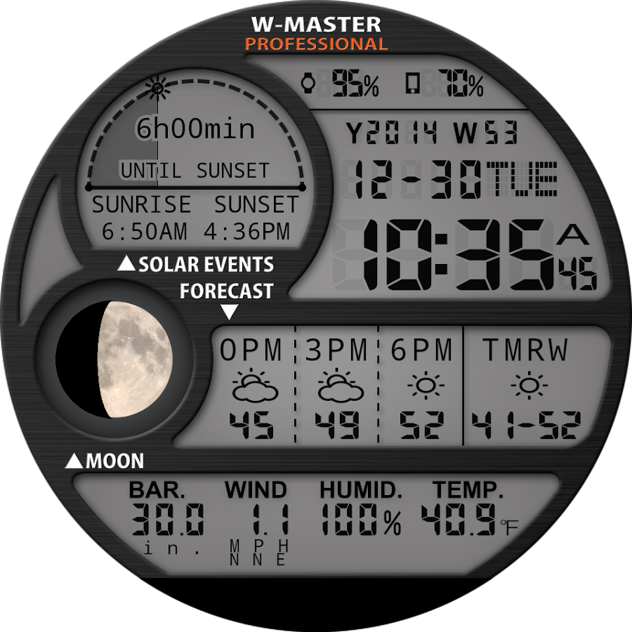 F04 WatchFace for Moto 360- screenshot