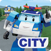 Robocar Poli Games: Rescue Town and City Games Icon