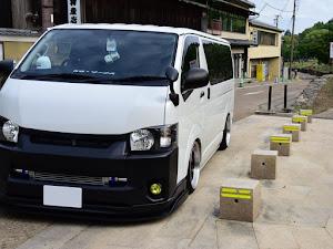 ハイエースバン TRH200V SUPER GL 2018年式のカスタム事例画像 keiji@黒バンパー愛好会さんの2020年06月24日21:51の投稿