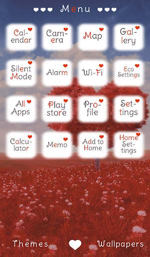 玩免費個人化APP|下載ハートツリー+HOME無料きせかえ app不用錢|硬是要APP