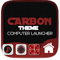Carbon Fiber Theme For Computer Launcher icon