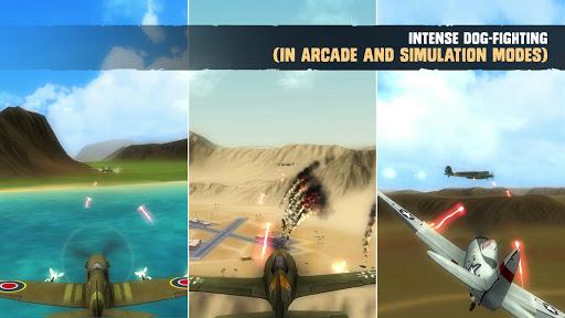 Télécharger Gratuit War Dogs : Simulateur de vol de combat aérien WW2  APK MOD (Astuce) screenshots 1