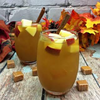 Caramel Apple Cider Sangria.