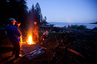 Photo: Hanging out in camp in Grand Teton National Park, WY.