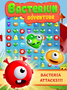 Bacteria: Fun and Free Match 3- screenshot thumbnail