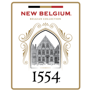 Logo of New Belgium 1554 Enlightened Dark Ale