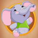 Toddler Puzzle and fun games for Kids icon