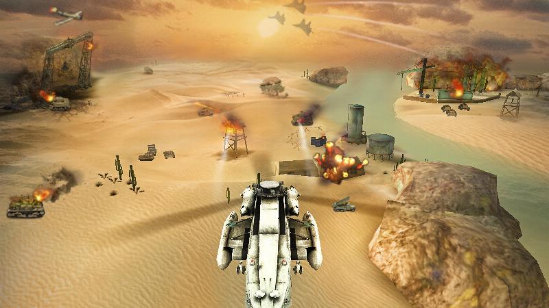 Screenshots of Gunship Strike 3D for iPhone