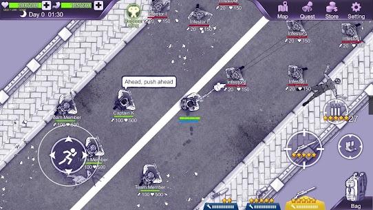 Ares Virus MOD APK 1.0.7 (God Mode + Unlimited Stamina) 6
