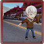 Vampire Run in City APK icon