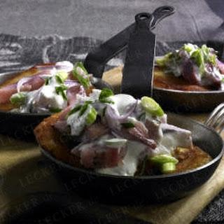 Kartoffelpuffer mit Matjes
