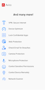 Avira Security 2020 - Antivirus e VPN Screenshot