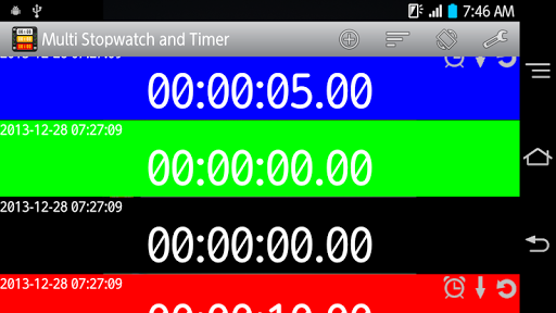 Multi Stopwatch and Timer Pro screenshot 6