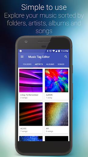 Music Tag Editor - Fast Albumart Song Editor 2.6.1 screenshots 2