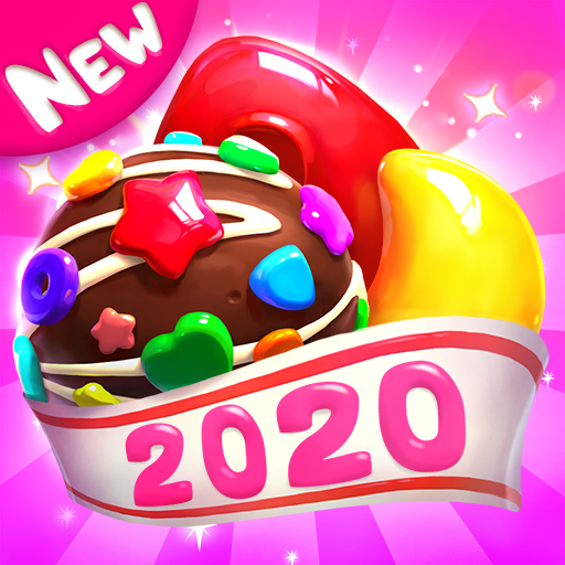 Crazy Candy Bomb - Sweet match 3 game Icon