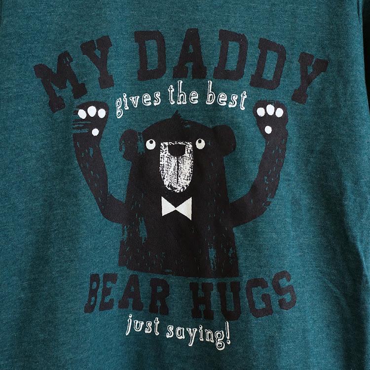 Daddy's Bear Hug
