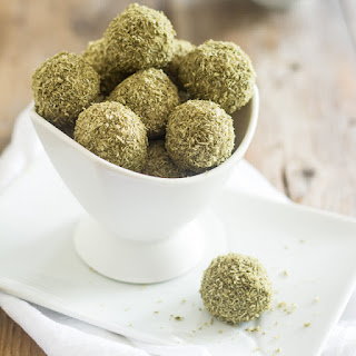Matcha and Coconut Fat Bombs