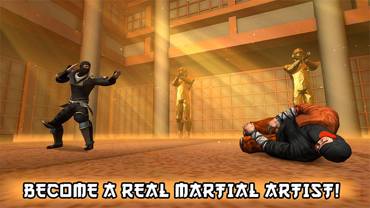 Ninja Kung Fu Fighting 3D – 2- screenshot