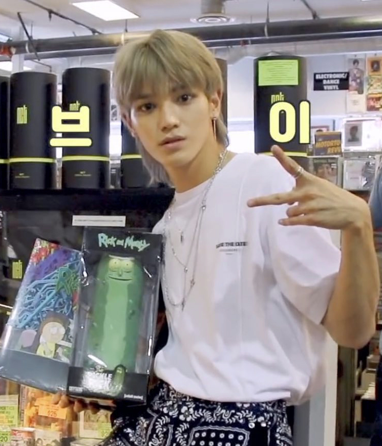nct 127 taeyong rick and morty