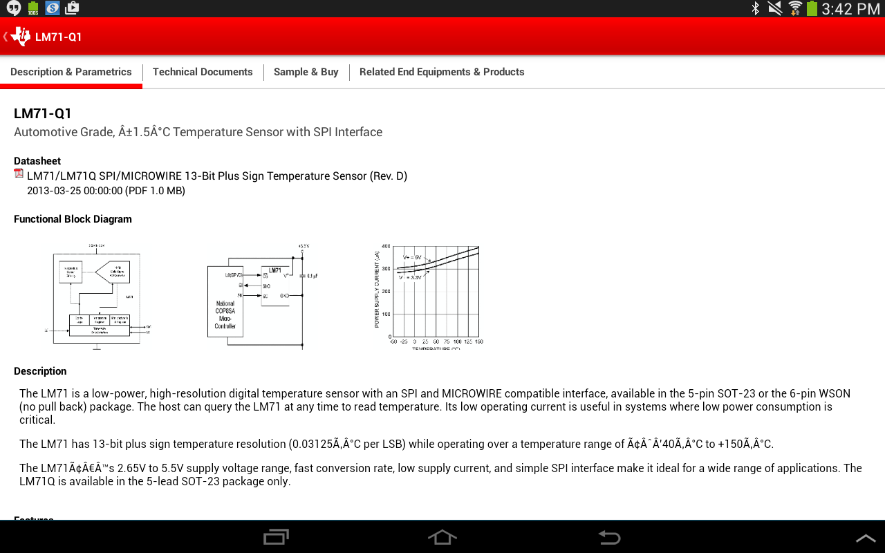 Texas Instruments - screenshot