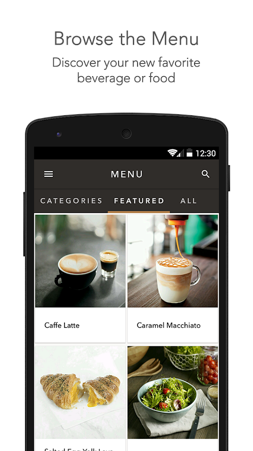 Starbucks Singapore- screenshot