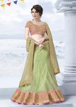 Photo: CODE: 6716 3 PCS Designer Lehenga Saree . Price : USD 121