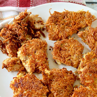 Almond & Coconut Paleo Fried Chicken.